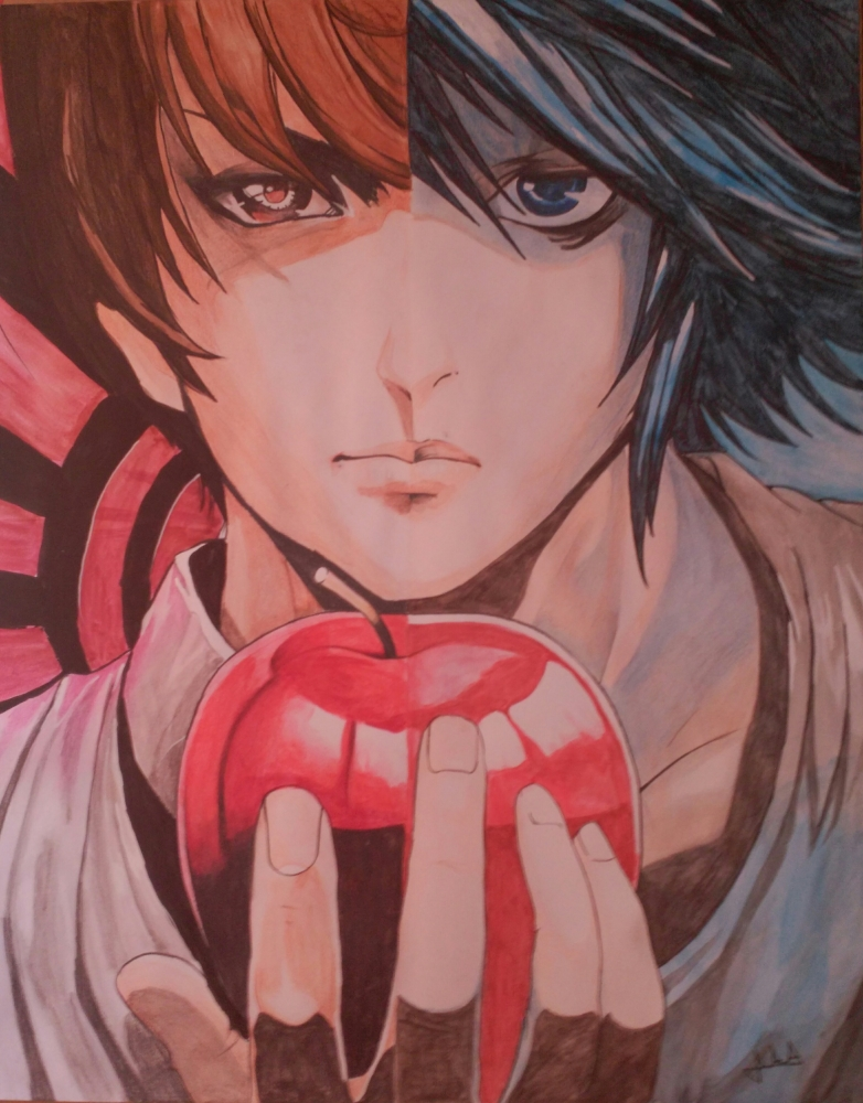 Death Note by Erni